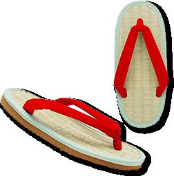 発育・運動性の様々な面から設計された草履「ケンコーミサトっ子」